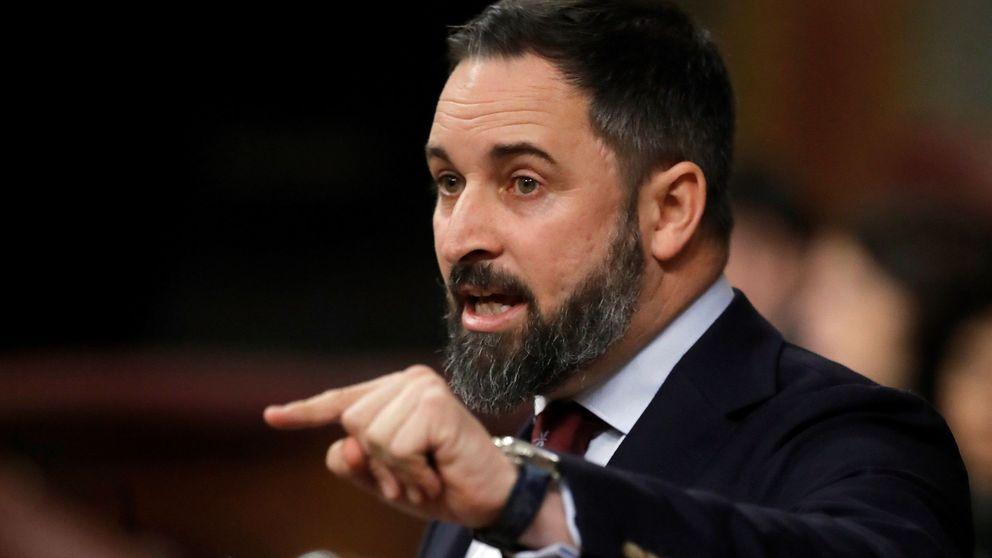 Abascal (Vox) defiende su rechazo a las leyes contra la violencia machista en la investidura de Pedro Sánchez