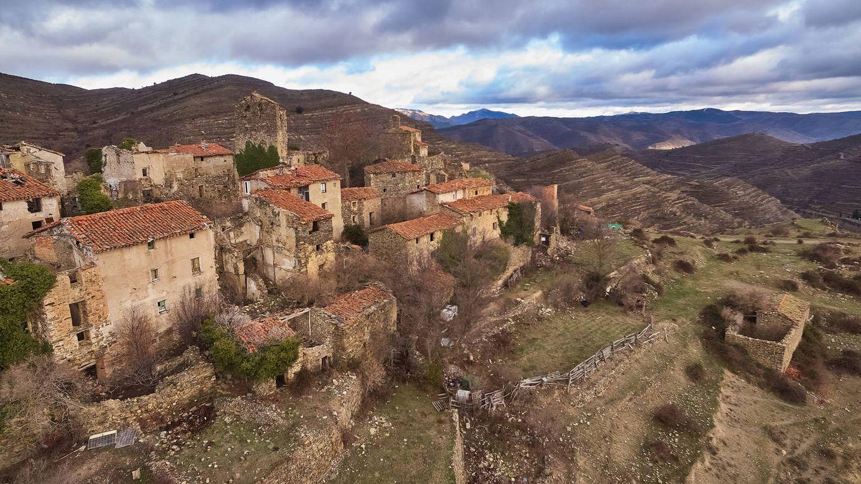 San Vicente de Munilla, uno de los  pueblos deshabitados de La Rioja. (iStock)