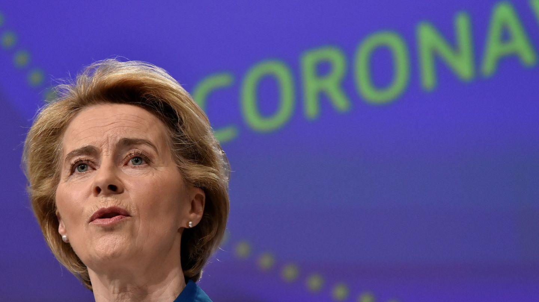 Ursula von der Leyen, presidenta de la Comisión Europea. (Reuters)