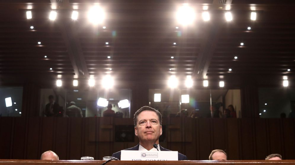 Foto: El exdirector del FBI James Comey. (Efe)