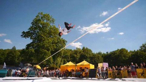 Campeonato mundial de acrobacias sobre una cuerda