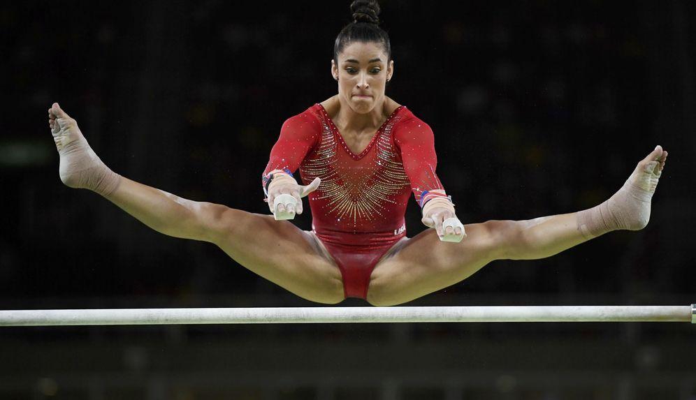 Foto: En la imagen, Alexandra Raisman, en acción durante los Juegos de Río de Janeiro. (Reuters)