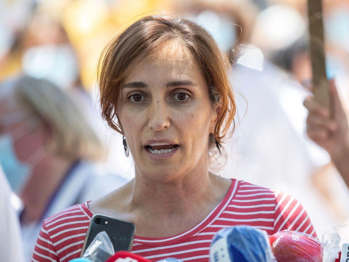 Foto: Mónica García, candidata de Más Madrid en la Asamblea. (EFE)