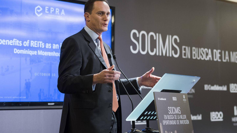 Dominique Moerenhout, CEO de EPRA. (European Public Real Estate Association)