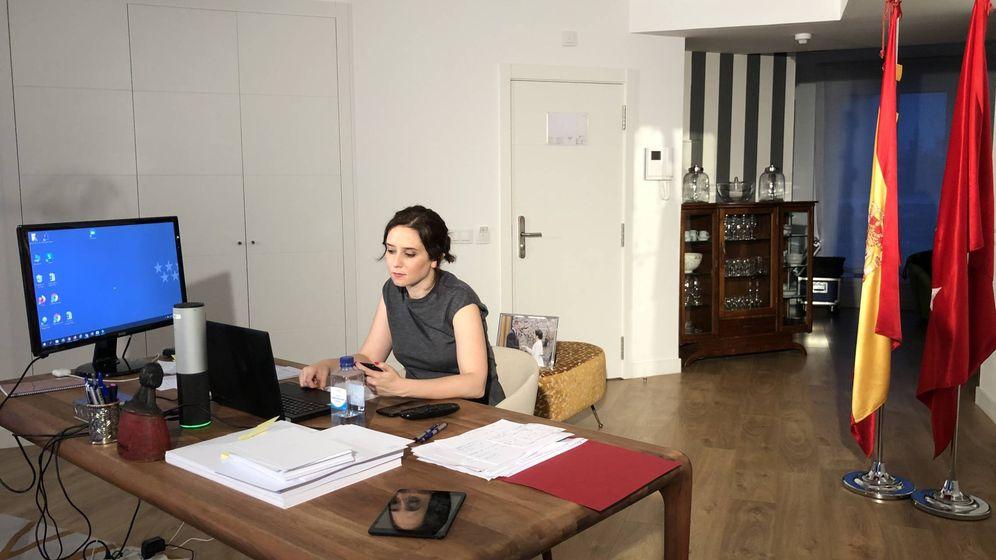 Foto: La presidenta de la Comunidad de Madrid, Isabel Díaz Ayuso.