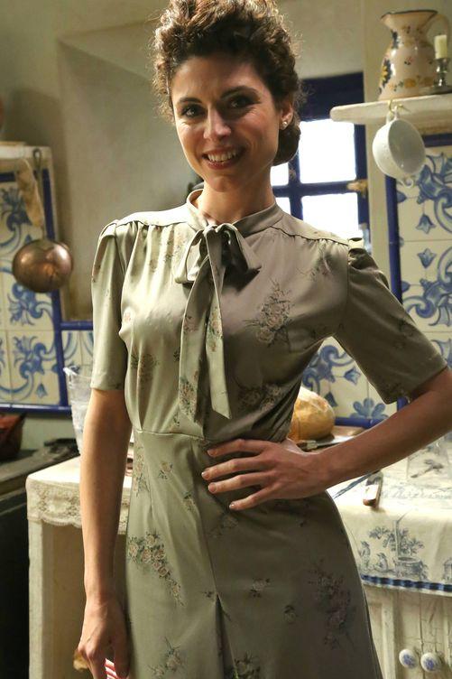Cayetana Cabezas es Nazaria en 'El secreto de Puente Viejo'. (Atresmedia)