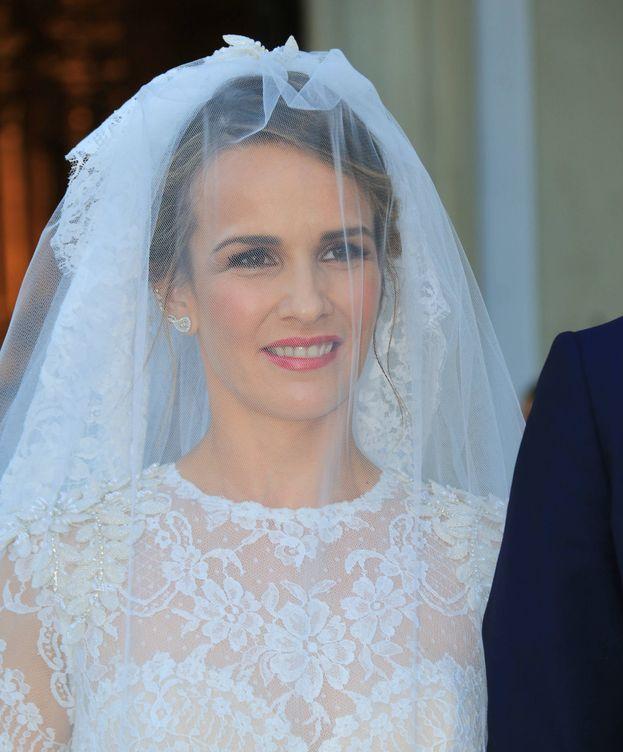Foto: Yeyes Manzanares el día de su boda. (Gtres)