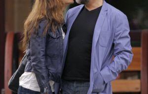 Verbeke y de Castro, dos ex bien avenidos que comparten besos