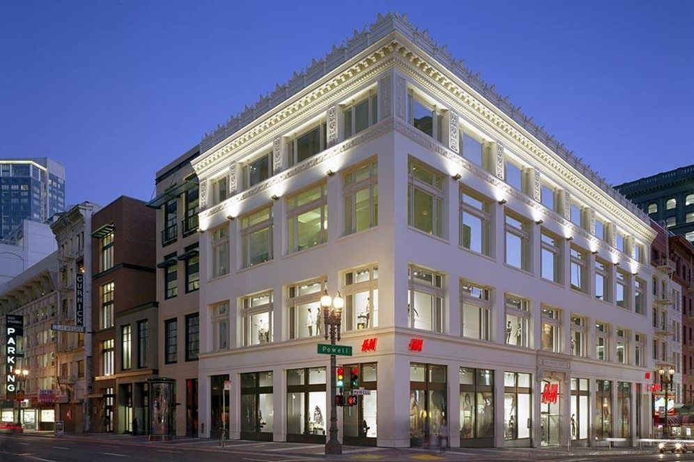 Foto: Tienda de H&M en el 150  de Powell St. en San Francisco (Foto: Union Property)