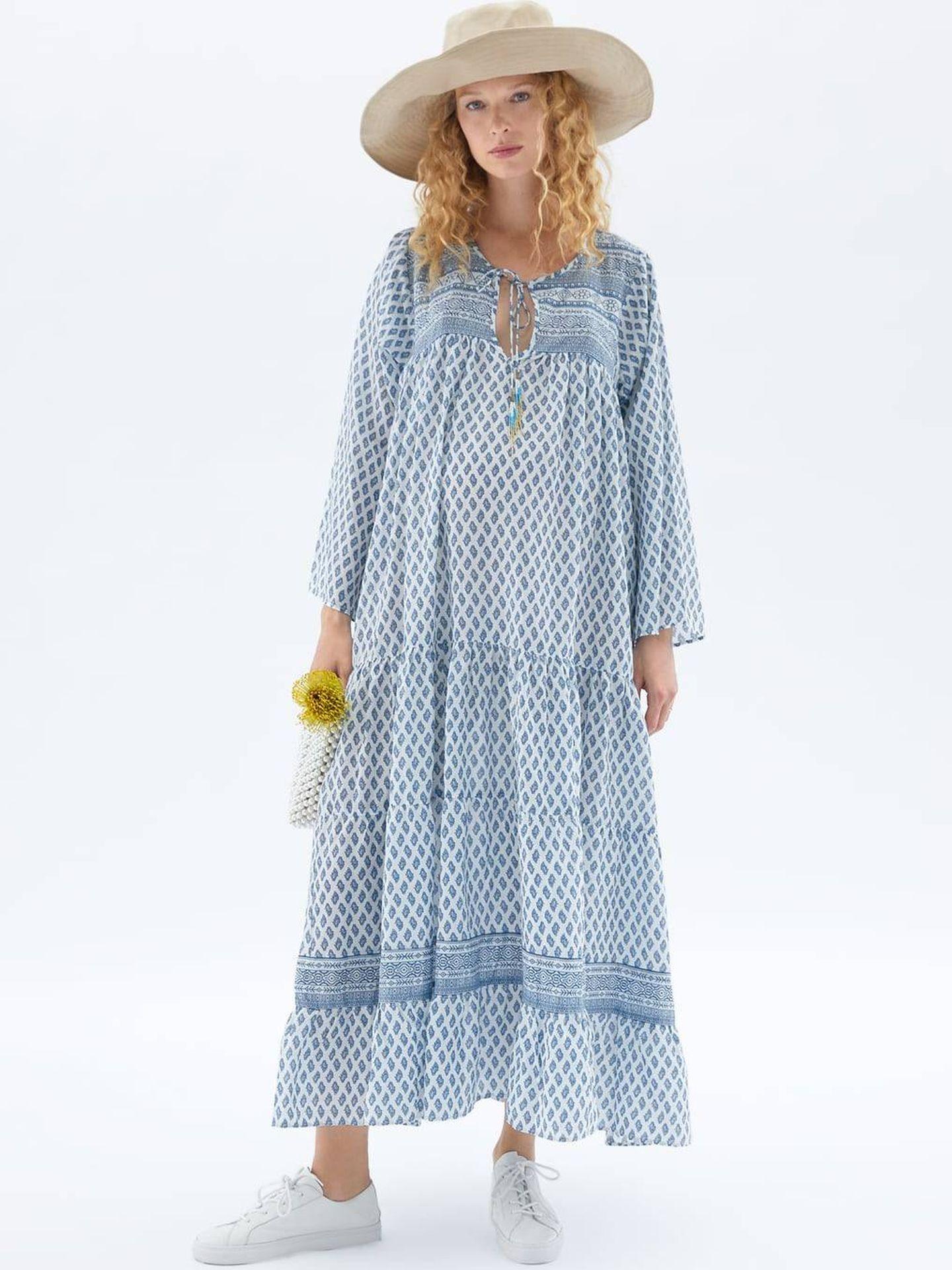 Hemos sentido un auténtico flechazo por este vestido de Zara. (Cortesía)