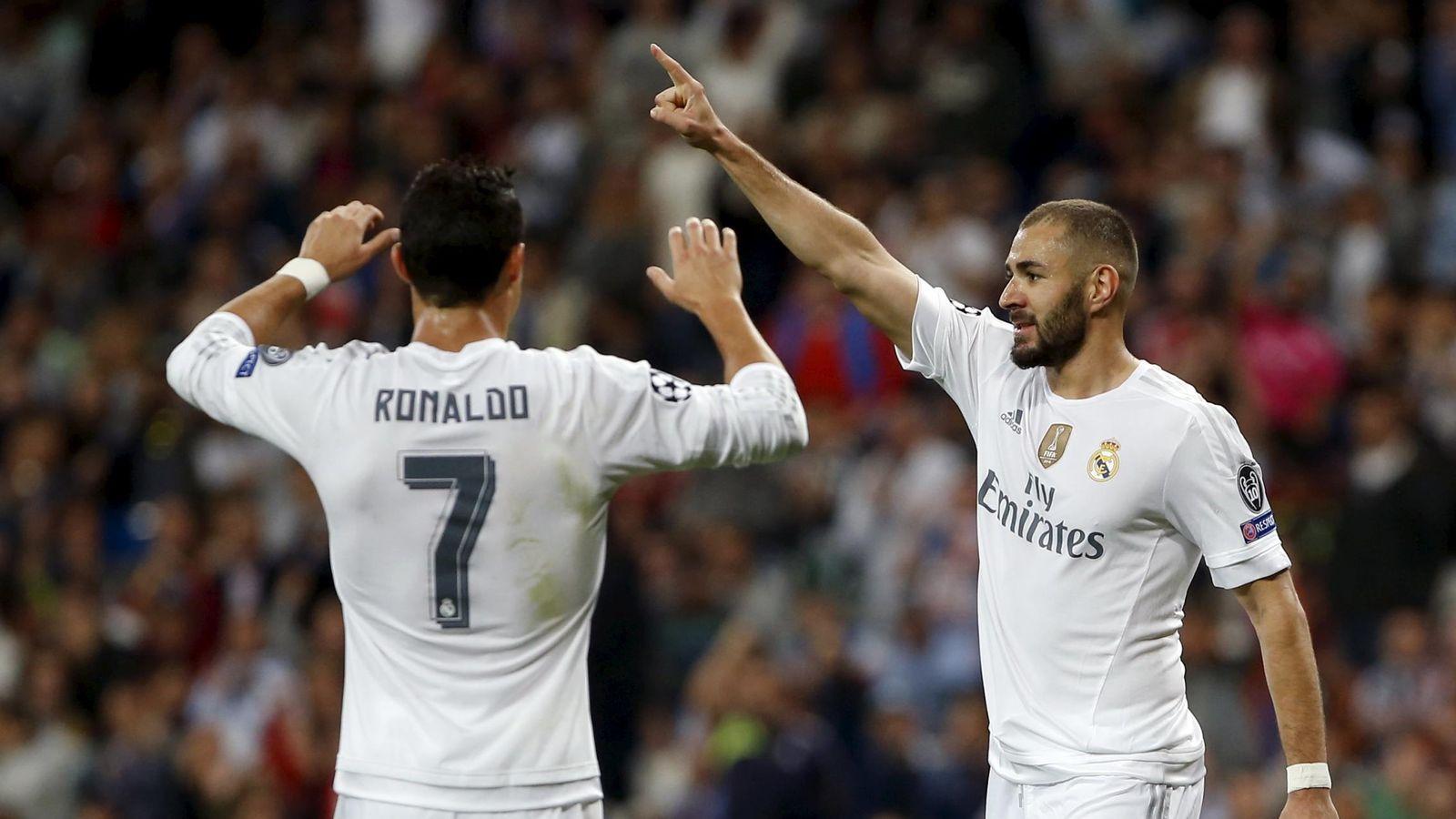 Foto: Cristiano y Benzema siempre han mantenido una gran relación (Reuters)