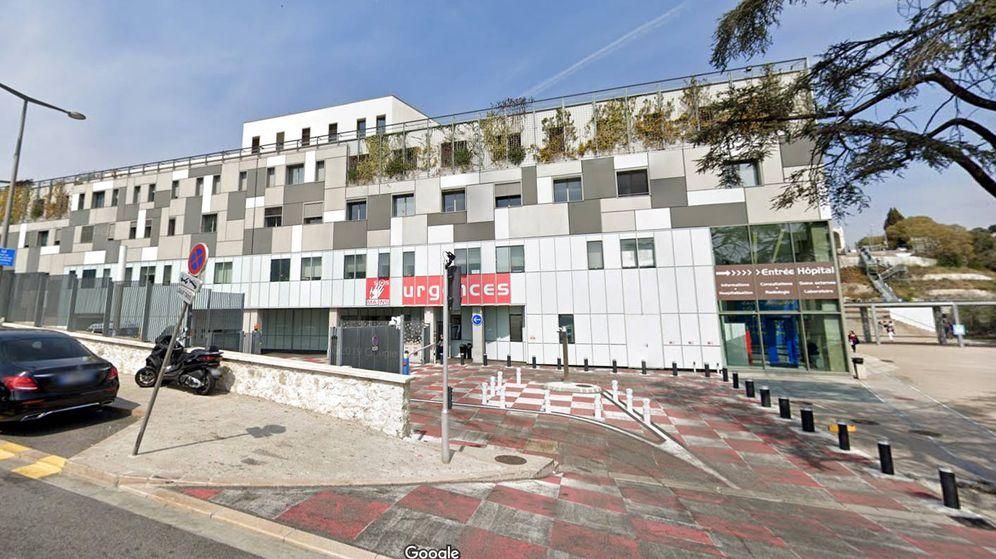 Foto: El Hospital Pasteur-2 de Niza, al que fueron trasladados los heridos (Foto: Google Maps)
