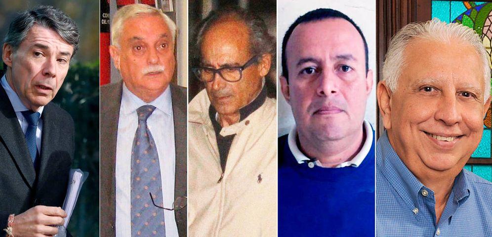 Foto: Ignacio González, Luis Vicente Moro, Edmundo Rodríguez, Diego García Arias y Ramón Navarro.