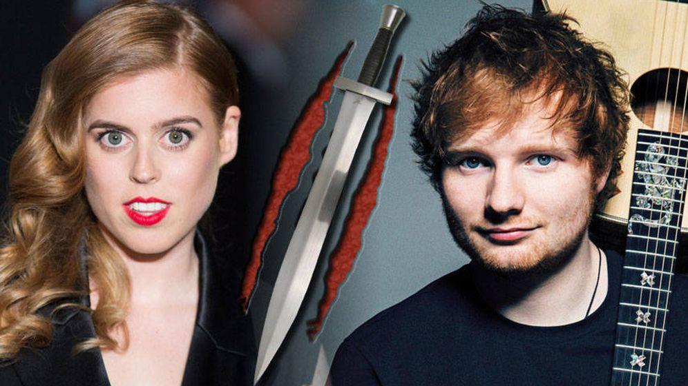 Foto: Ed Sheeran y Beatriz de York en una fotomontaje realizado por Vanitatis