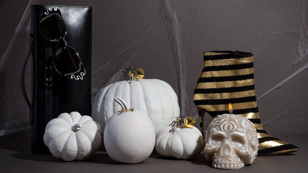 Foto: Escala de negros y dorados. Que las tendencias no pasen desapercibidas en tu noche de Halloween. (Olga Moreno)