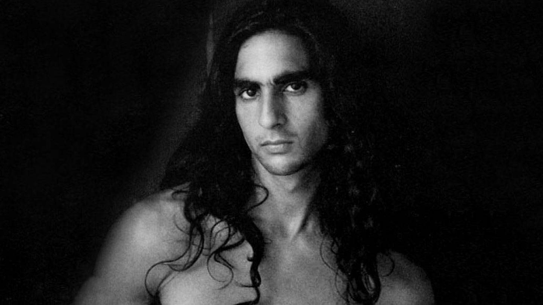 Antonio, en la portada de uno de sus discos.