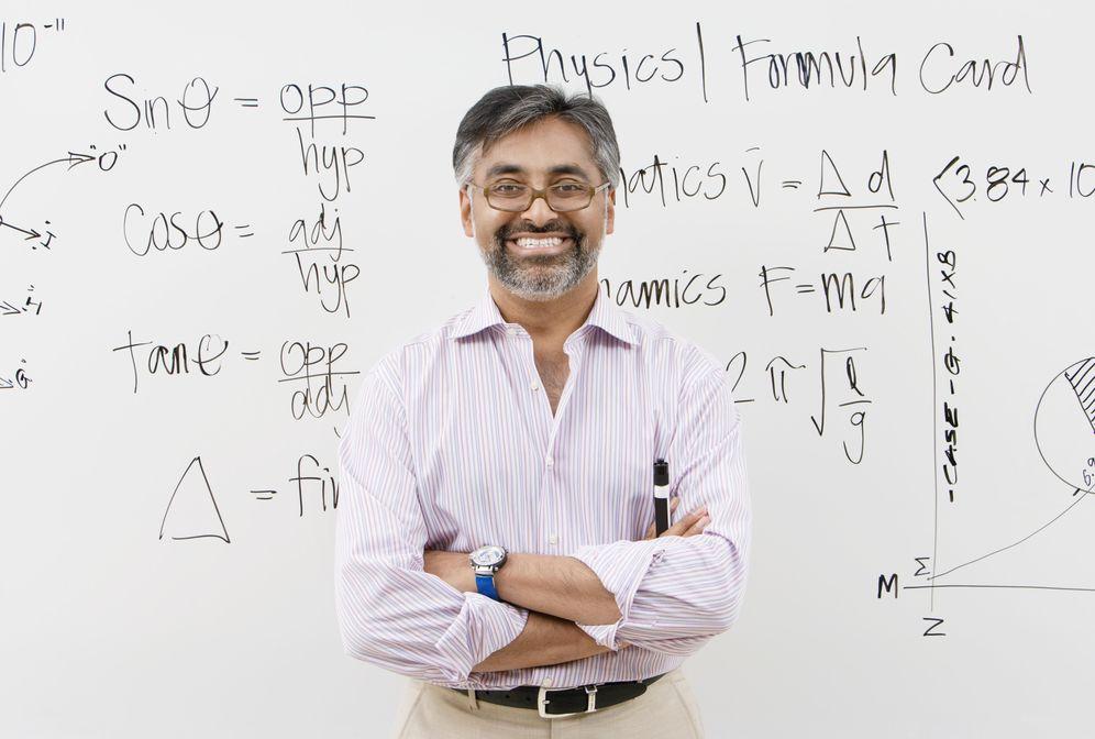 Foto: En la universidad, les das números y fórmulas, y son felices. (Corbis)