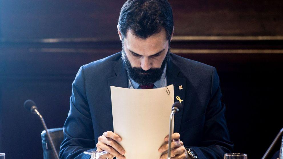 Pinza de JxCAT y los letrados del Parlament para llevar a Torrent al desafío legal
