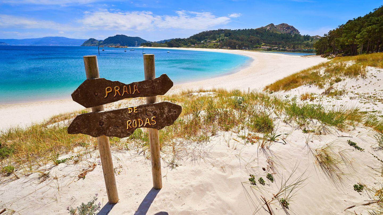 Praia de Rodas en las Islas Cíes (Fuente: iStock)