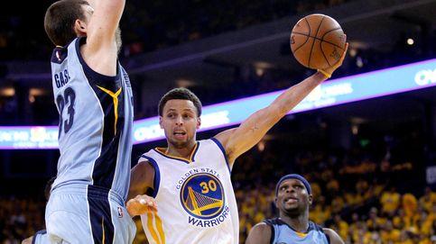Curry y la gran defensa de los Warriors dejan a los Grizzlies al borde del KO