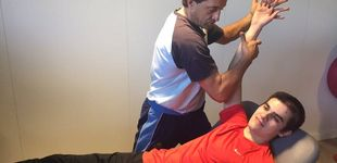 Post de La espectacular recuperación de la mano de Bruno Hortelano