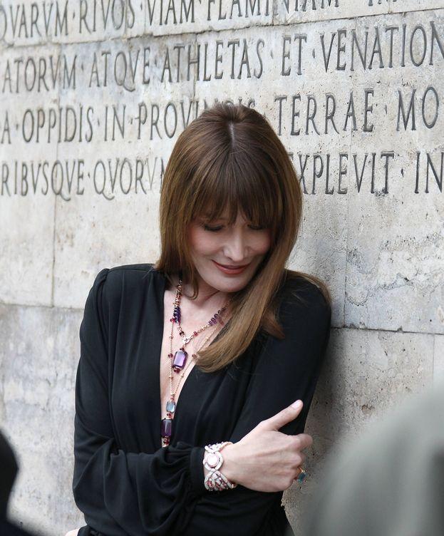 Foto: Carla Bruni en una imagen de archivo (Gtres)