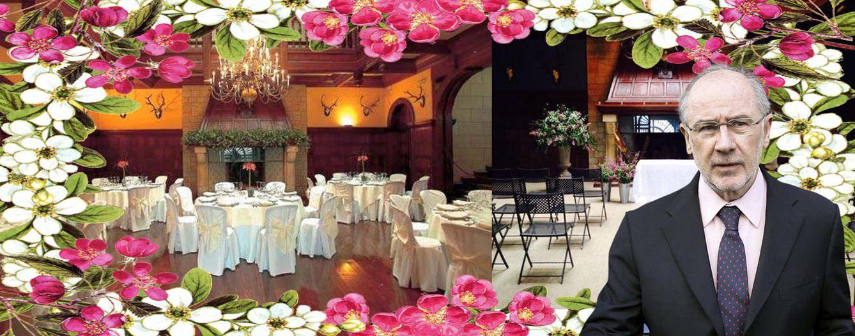 Foto: El palacio de la familia Rato se alquila para bodas (Montaje: Vanitatis)