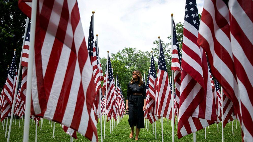 Foto: Melania Trump ha encontrado la forma de eclipsar la campaña de su marido. (Reuters)