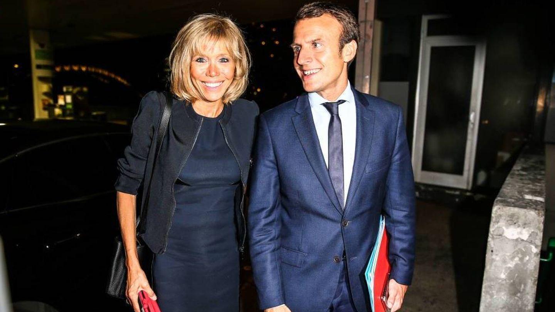 Macron y su esposa Brigitte. (Gtres)