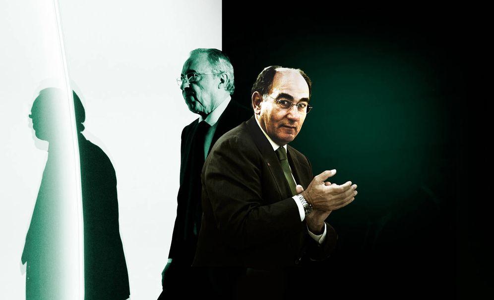 Foto: Florentino Pérez (i) e Ignacio Sánchez Galán. (Imagen: EC)