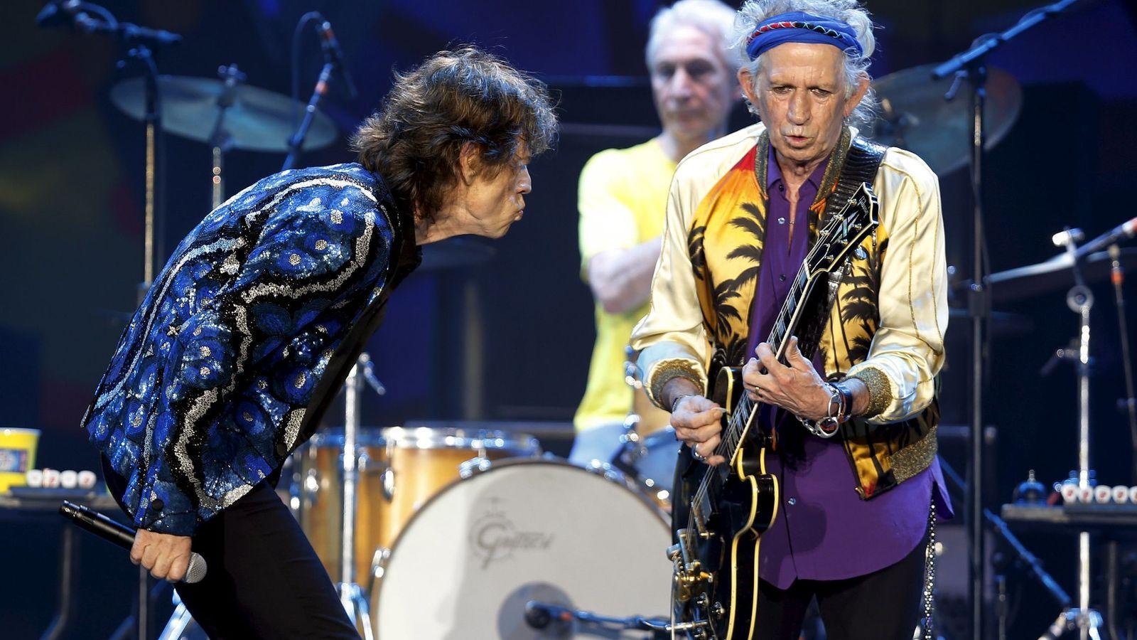 Foto: Los Rolling Stones en su último concierto el pasado febrero en Sao Paulo (Brasil)