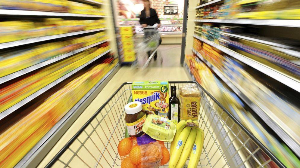 Foto: Un carro de la compra en un supermercado. (EFE)