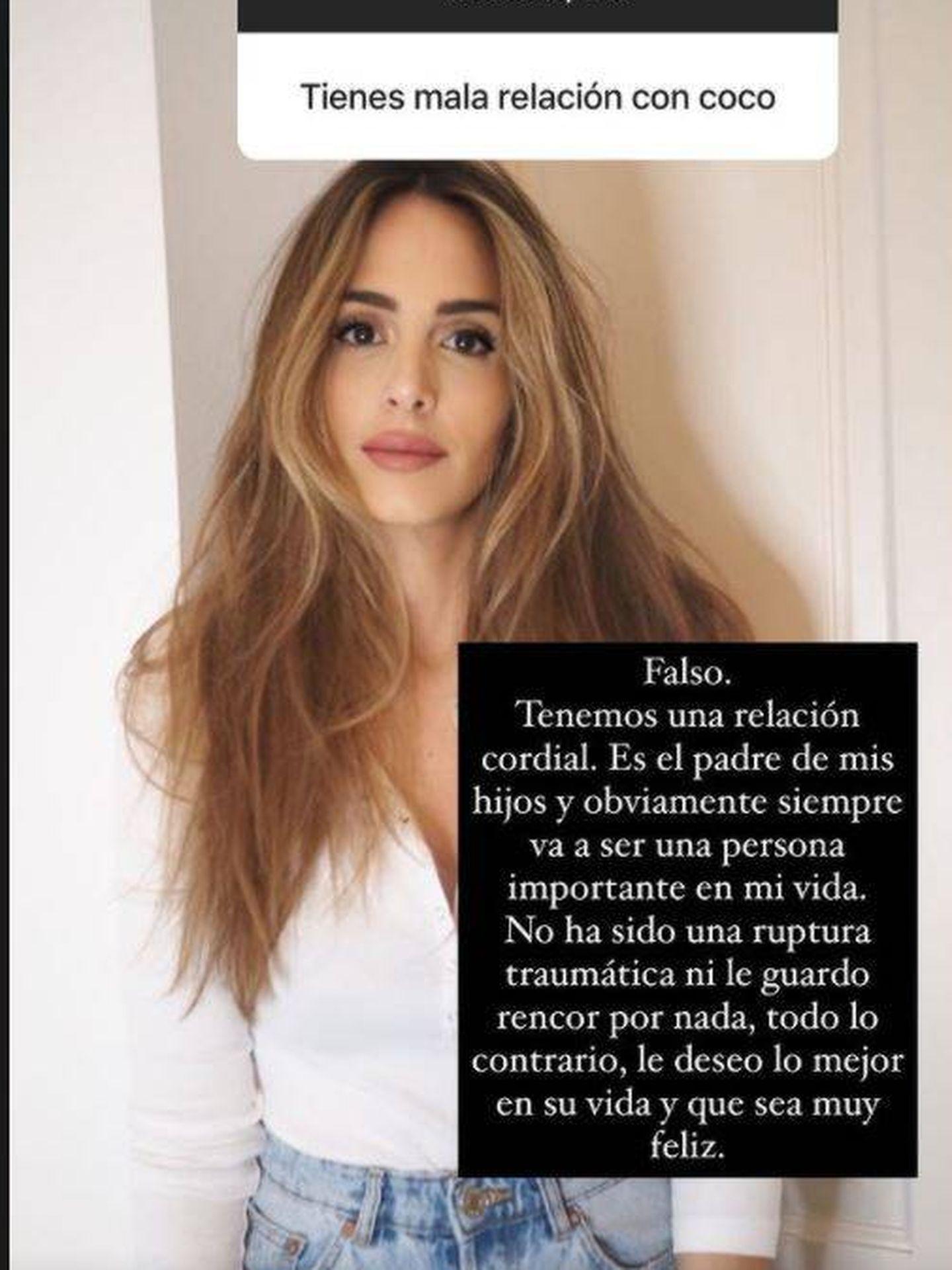 Rocío responde sobre su ex. (IG @rocio0sorno)