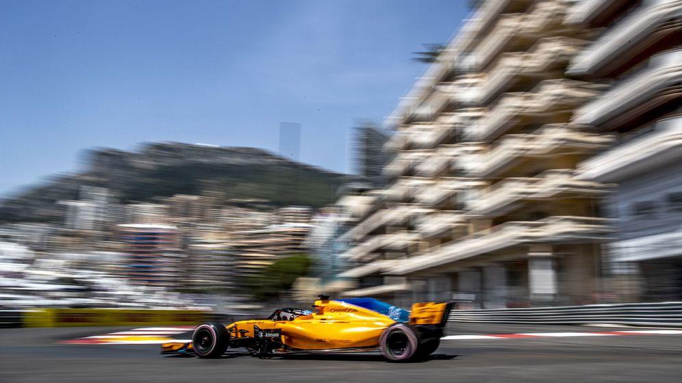 Foto: Alonso firmó un meritorio e inesperado séptimo puesto en la clasificación del Gran Premio de Mónaco (EFE)