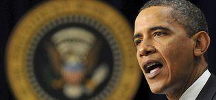 Foto: Obama: políticos contra banqueros