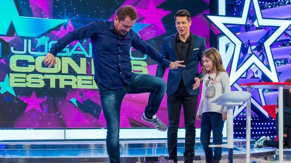 Foto: 'Jugando con las estrellas' con Jaime Cantizano en TVE.