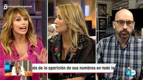 'Viva la vida' | Emma García explota tras la bronca entre Alba Carrillo y Diego Arrabal: Os voy a mandar a vuestra puñetera casa