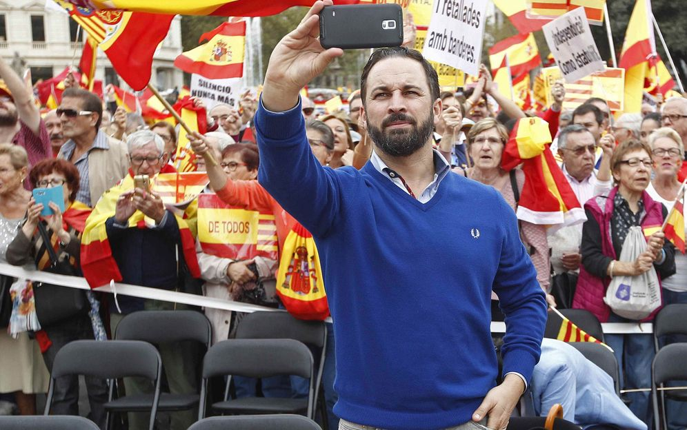 Foto: Santiago Abascal, líder de Vox. (EFE)