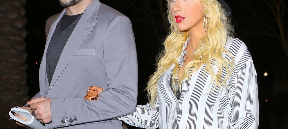 Foto: Christina Aguilera y Matthew Rutler en una imagen de archivo (Gtres)