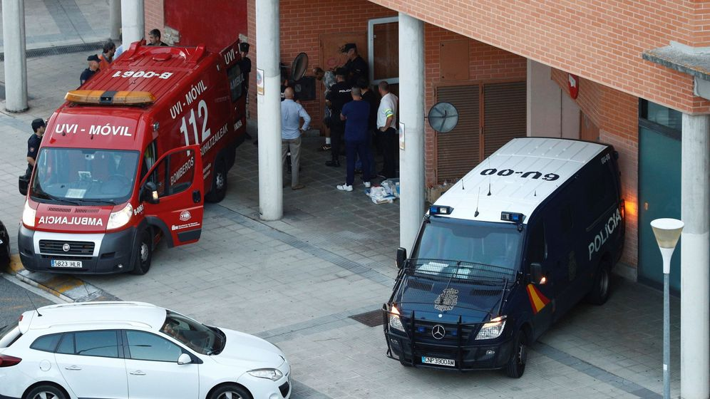 Foto: Policia Nacional en Pamplona en una foto de archivo. (EFE)