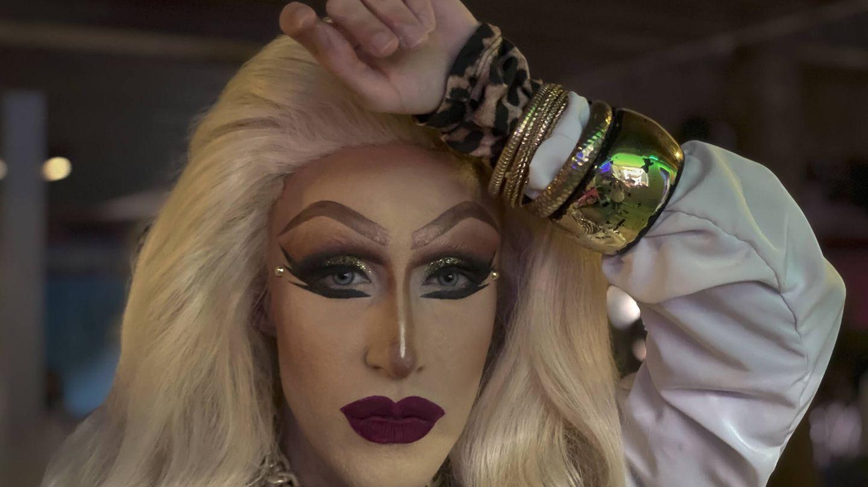 La artista drag Samantha Ballentines. (A. R.)