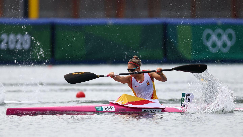 Teresa Portela en acción. (Reuters)