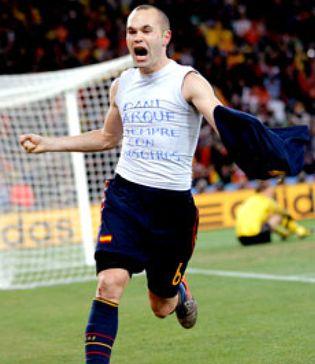 Foto: Lo confieso, lloré viendo a Iniesta en 'Informe Robinson'