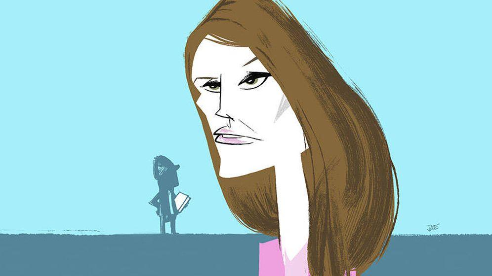 Foto: La reina Letizia en una ilustración de Jate para Vanitatis.