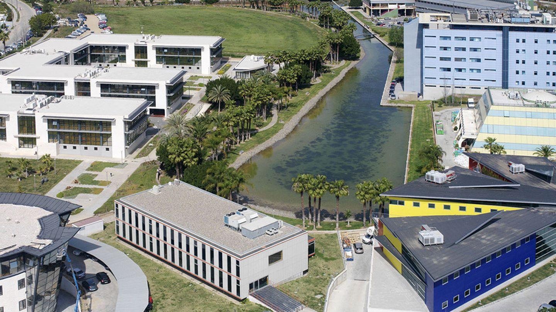 Vista aérea del Parque Tecnológico de Andalucía. (PTA)