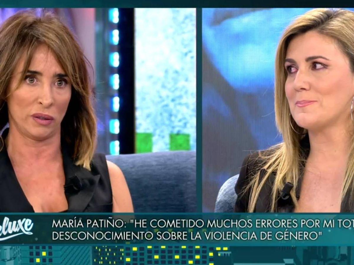 Foto: María Patiño y Carlota Corredera, en 'Viernes Deluxe'. (Telecinco).