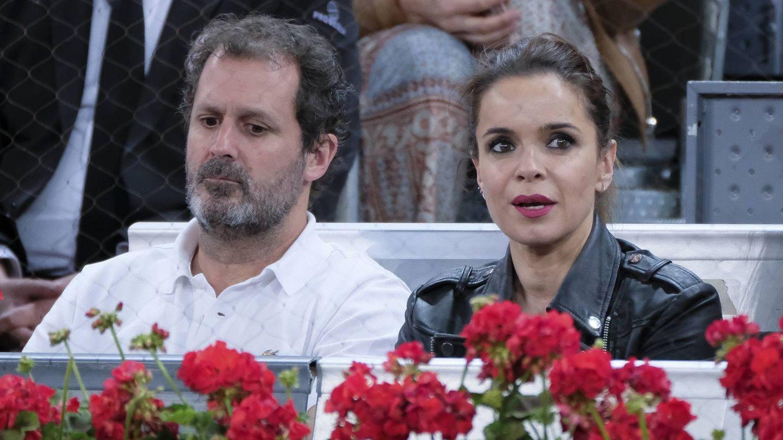 Con su marido, Bernabé Domínguez. (Cordon Press)