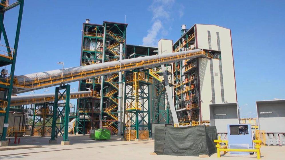 Foto: Instalaciones de captura de CO2 de Ciuden, en Cubillos del Sil (León).