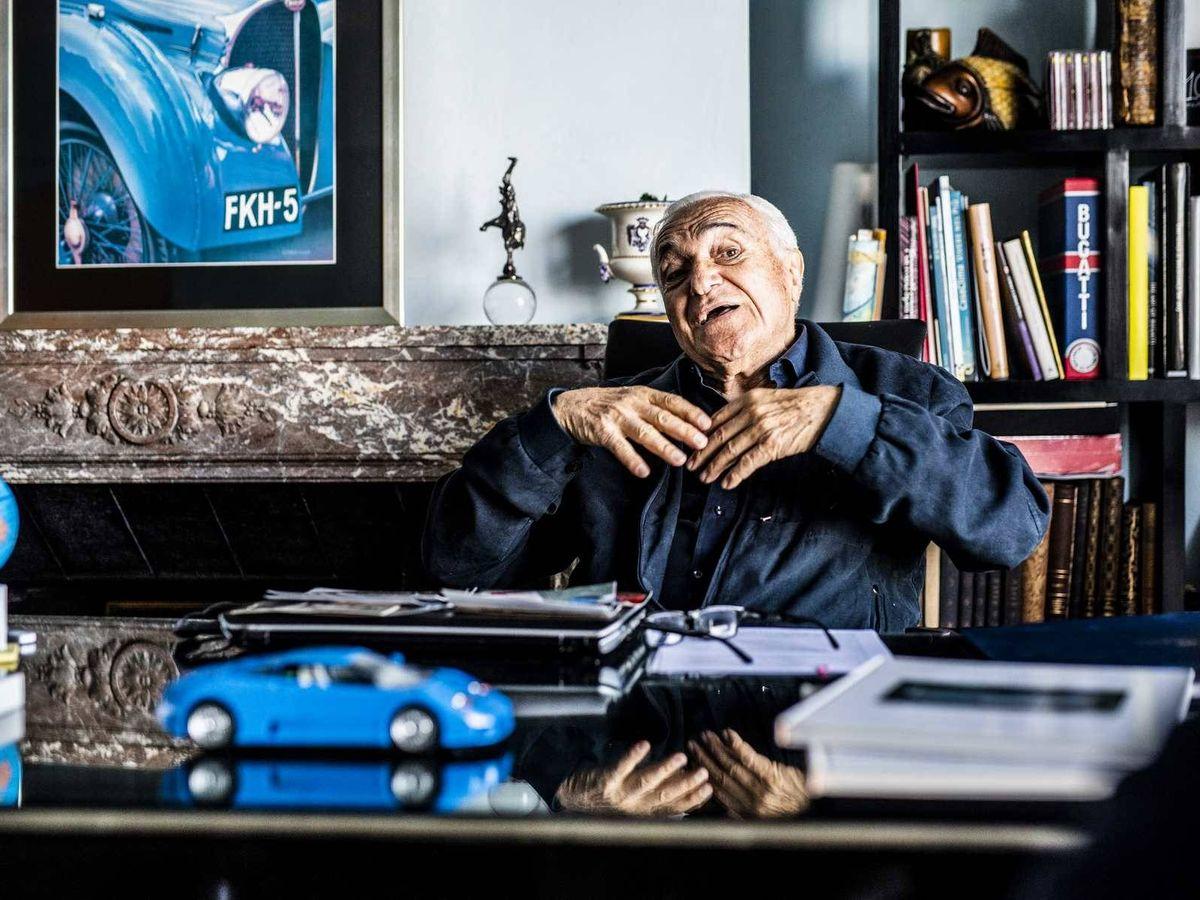 Foto: Romano Artioli, el hombre que relanzó la marca Bugatti tras 39 años de cierre.