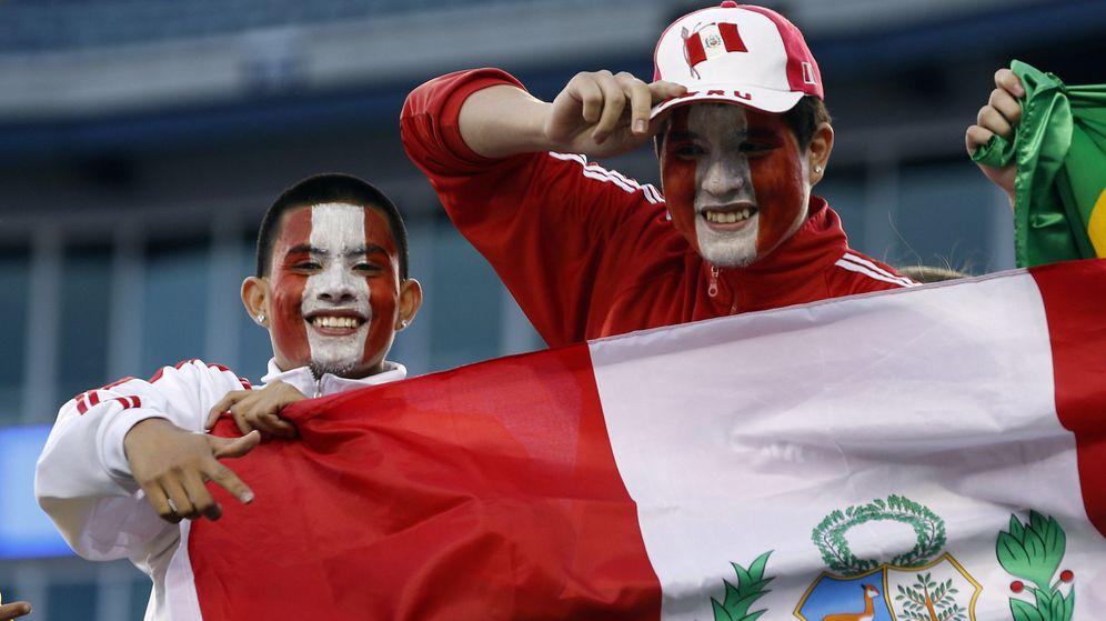 Foto: Aficionados de Perú en el Mundial de Rusia. (Efe)